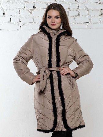 Модные стеганые пальто