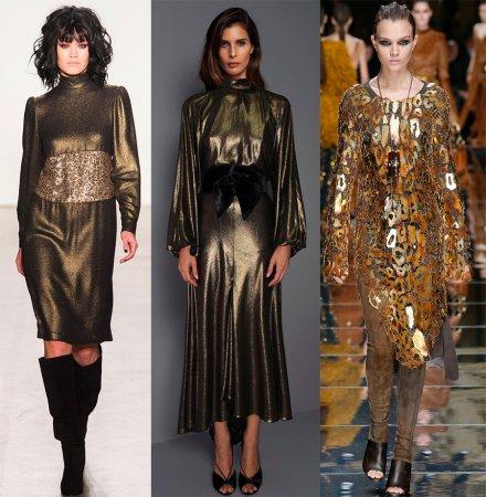 Модные блестящие платья – 2018