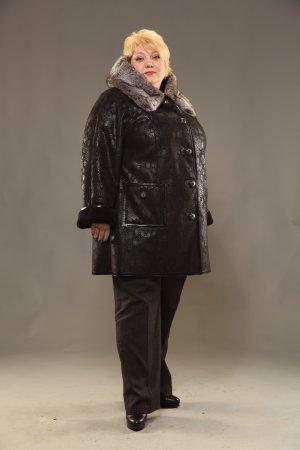 Модные искусственные дубленки