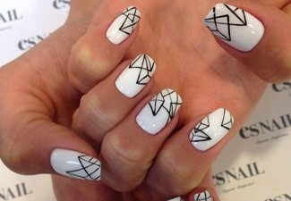 Дизайн ногтей 2018: модные рисунки на ногтях