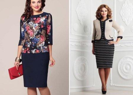 Мода для полных женщин 2018: фото и советы по стилю
