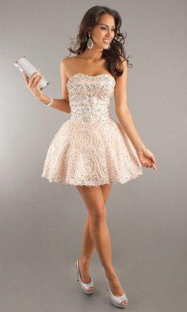Модные вечерние платья на свадьбу