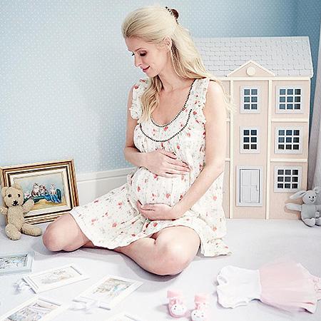 Ники Хилтон второй раз стала мамой