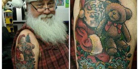 Временные новогодние татуировки -2018