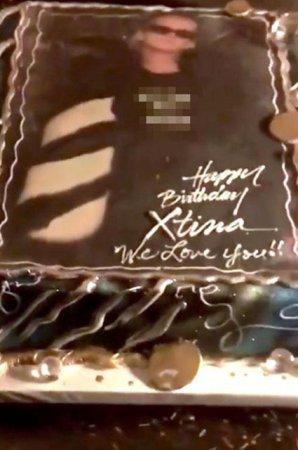 Кристина Агилера отметила свой день рождения