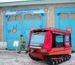 Новый снегоболотоход получила пожарная часть №41 в Вологде