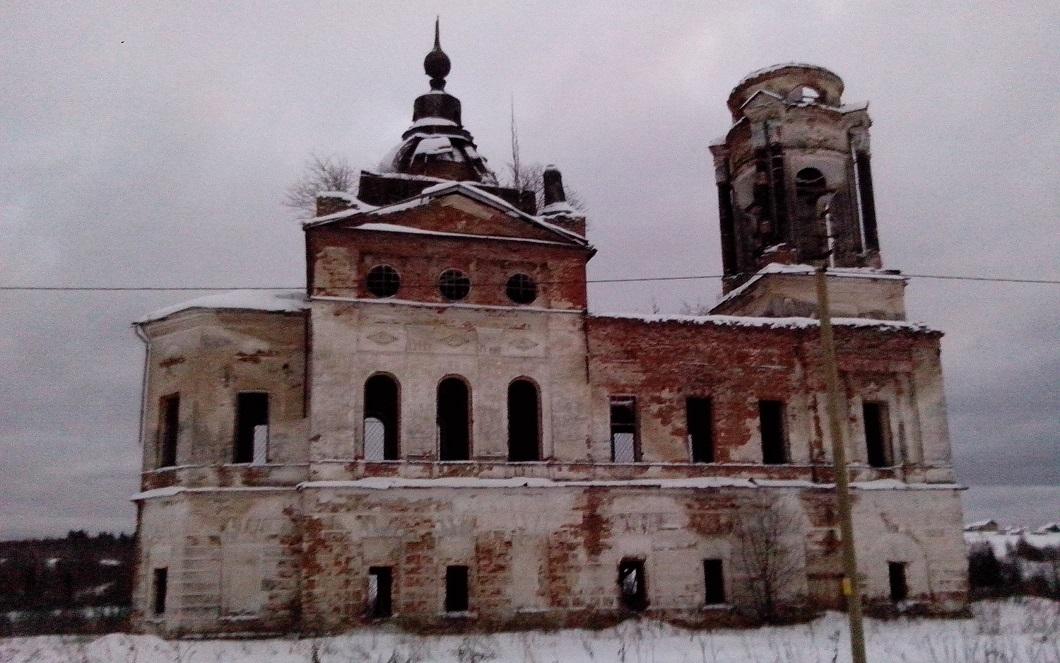 Черный параллелограм на церкви под Тотьмой оказался вымыслом