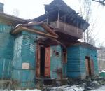В Великом Устюге во время пожара в расселенном доме погиб человек