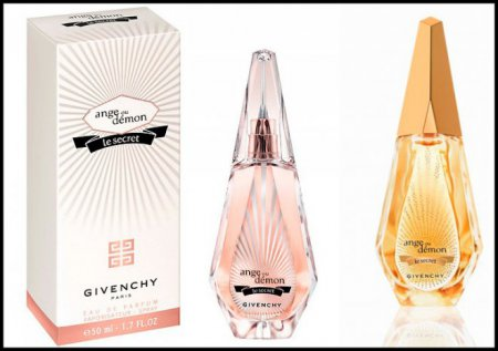 Ароматы Veri Irresistible и Ange Ou Demon Le Secret от Givenchy