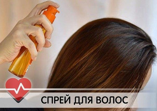 Как сделать своими руками спрей для волос